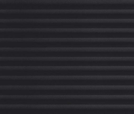 Plisségardin Svart – Semitransparent